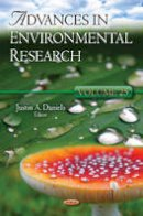 DANIELS J.A. - Advances in Environmental Research - 9781619425569 - V9781619425569