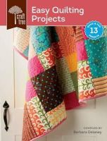 - Craft Tree Easy Quilting Projects - 9781620335567 - V9781620335567