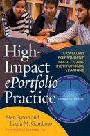 Enyon, Bret; Gambino, Laura M. - High Impact Eportfolio Practice - 9781620365052 - V9781620365052