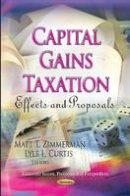 - Capital Gains Taxation - 9781620810767 - V9781620810767