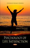 Vassar, Matt - Psychology of Life Satisfaction - 9781620813072 - V9781620813072