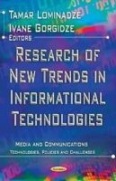 Lominadze, Tamar; Gorgidze, Ivane - Research of New Trends in Informational Technologies - 9781620814581 - V9781620814581