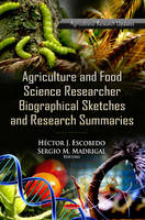 - Agriculture & Food Science Research Biographical Sketches & Research Summaries - 9781621009344 - V9781621009344