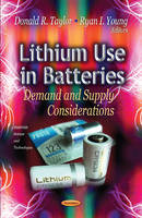 TAYLOR D.R. - Lithium Use in Batteries - 9781622570379 - V9781622570379