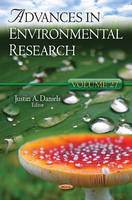 Daniels, Justin A. - Advances in Environmental Research - 9781622574254 - V9781622574254