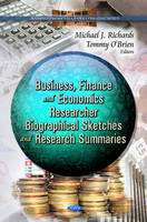 RICHARDS M.J - Business, Finance & Economcs Researcher - 9781622575671 - V9781622575671