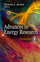 ACOSTA M.J. - Advances in Energy Research - 9781622576210 - V9781622576210