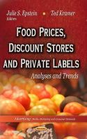 EPSTEIN J.S. - Food Prices, Discount Stores and Private Labels - 9781622578726 - V9781622578726