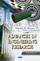 PETROVA V.M. - Advances in Engineering Research - 9781622579723 - V9781622579723
