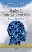 CARDENAS B.D. - Topics in Entrepreneurship - 9781624172373 - V9781624172373