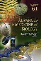 BERHARDT L.V. - Advances in Medicine and Biology - 9781624173196 - V9781624173196