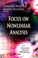 PADOVANI G. - Focus on Nonlinear Analysis Research - 9781624173509 - V9781624173509