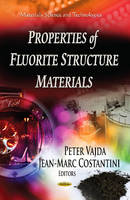 VAJDA, PETER - Properties of Fluorite Structure Materials - 9781624174582 - V9781624174582