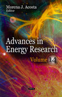 Acosta, Morena J. - Advances in Energy Research - 9781624177361 - V9781624177361