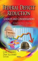 - Federal Deficit Reduction - 9781624177798 - V9781624177798