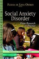 OS3/4RIO, FLßVIA DE LI - Social Anxiety Disorder - 9781624178269 - V9781624178269