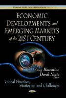 BOSCARINO, GUY - Economic Developments & Emerging Markets of the 21st Century - 9781624179860 - V9781624179860
