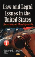 LANDERS, LAURENT B - Law & Legal Issues in the United States - 9781626182776 - V9781626182776