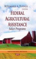 TURNER, ROSEMARIE A - Federal Agricultural Assistance - 9781626185548 - V9781626185548