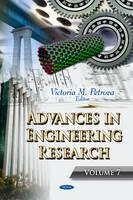 Petrova, Victoria M - Advances in Engineering Research - 9781626189829 - V9781626189829
