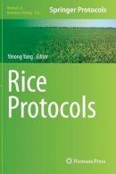 . Ed(s): Yang, Yinong - Rice Protocols - 9781627031936 - V9781627031936