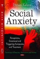 KALYVA E - Social Anxiety - 9781628083965 - V9781628083965