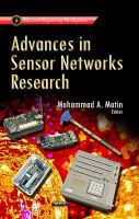 Mohammad A. Matin - Advances in Sensor Networks Research (Electrical Engineering Developments) - 9781629486796 - V9781629486796