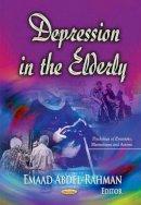 EMAAD ABDEL RAH - Depression in the Elderly - 9781631172168 - V9781631172168