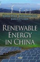 YUAN J - Renewable Energy in China (Energy Science, Engineering and Technology) - 9781631176104 - V9781631176104