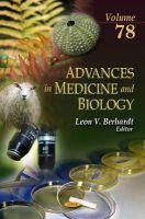 BERHARDT L.V. - Advances in Medicine and Biology - 9781631176630 - V9781631176630