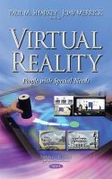 JOAV MERRICK - Virtual Reality: People With Special Needs - 9781633217294 - V9781633217294