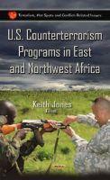 Keith Jones - U.s. Counterterrorism Programs in East and Northwest Africa - 9781634633338 - V9781634633338