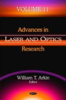 Arkin, William T - Advances in Laser and Optics Research - 9781634634946 - V9781634634946