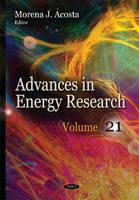 Acosta, Morena J - Advances in Energy Research - 9781634638333 - V9781634638333
