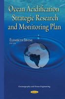 Irvine, Elisabeth - Ocean Acidification Strategic Research and Monitoring Plan - 9781634820592 - V9781634820592