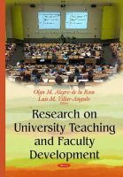 Rosa, Olga María Alegre de la - Research on University Teaching and Faculty Development - 9781634823166 - V9781634823166