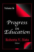 Nata, Roberta V - Progress in Education - 9781634827973 - V9781634827973