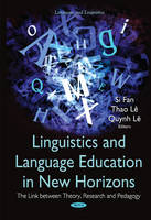 Fan, Si - Linguistics & Language Education in New Horizons - 9781634828000 - V9781634828000
