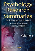 Wodarth, Nancy E - Psychology Research Summaries - 9781634829588 - V9781634829588