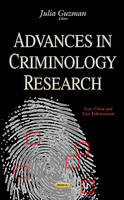Julia Guzman - Advances in Criminology Research - 9781634831802 - V9781634831802