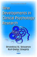 Stoyanov, Drozdstoj St - New Developments in Clinical Psychology Research - 9781634832236 - V9781634832236