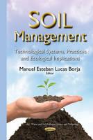 Borja, Manuel Esteban Lucas - Soil Management - 9781634832748 - V9781634832748