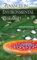Justin A Daniels - Advances in Environmental Research - 9781634854641 - V9781634854641