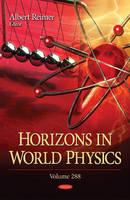 Albert Reimer - Horizons in World Physics - 9781634858823 - V9781634858823