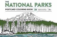 Ian Shive - The National Parks Postcard Coloring Book: 20 Colorable Postcards of America's National Parks - 9781683830214 - V9781683830214