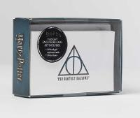 Insight Editions - Harry Potter: Deathly Hallows Foil Gift Enclosure Cards: Set of 10 (Harry Potter Gift Note Cards) - 9781683832577 - V9781683832577