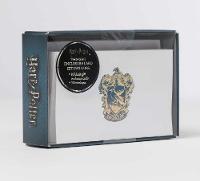 Insight Editions - Harry Potter: Ravenclaw Crest Foil Gift Enclosure Cards: Set of 10 (Harry Potter Gift Note Cards) - 9781683832898 - V9781683832898