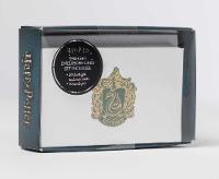Insight Editions - Harry Potter: Slytherin Crest Foil Gift Enclosure Cards: Set of 10 (Harry Potter Gift Note Cards) - 9781683832966 - V9781683832966