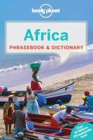 Lonely Planet - Africa Phrasebook & Dictionary - 9781741042276 - V9781741042276