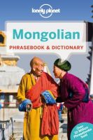 Lonely Planet - Lonely Planet Mongolian Phrasebook & Dictionary - 9781743211847 - V9781743211847